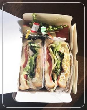 遠足・運動会、サンドイッチ