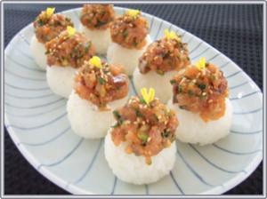 サンマ、ひとくち寿司